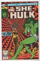Savage She-Hulk #15 (Apr 1981, Marvel) David Kraft Mike Vosburg Frank Springer c