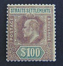 STRAITS SETTLEMENTS KEVII 1904 $100 ,SG140 , COPY / REPLICA
