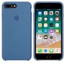 """DENIM BLUE REAL ORIGINAL Apple Silicone Case iPhone 8 PLUS 5.5"""""""