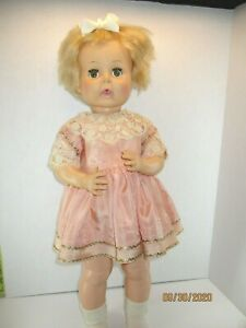 """Antique Vintage silk dress panties for large doll, fits 27"""" Thirsty W. NO DOLL"""