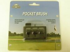 On Course Pocket Brush Cleaning Tool New Golf