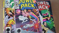 Marvel Comic Lot power pack 1 2 3 4 5 6 7 8 9 10-33 35-37 40 42-46 53 vf/vf+