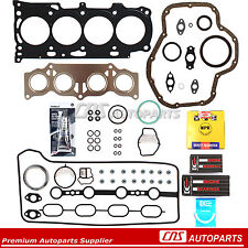 REF# HS26323PT HS26232PT TOYOTA CAMRY 2.4 Full Gasket Set Re-Ring Kit 2AZFE