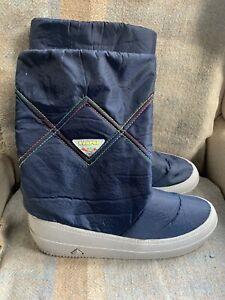 Kampus Retro Moon Boots Bormio Saba Size 47/48 Super Warm Unisex Warm Winter
