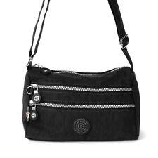 9a00bee13d3f5 Umhängetasche Nylon schwarz sportliche Damen Handtasche OTJ229S Bag Street