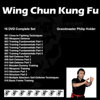 Wing Chun Kung Fu with Philip Holder Combined (16 DVD Set)