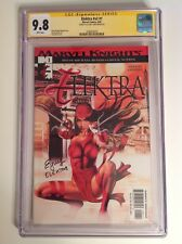 CGC 9.8 SS Elektra v2 #1 signed by Elodie Yung 2001 Marvel Knights Daredevil