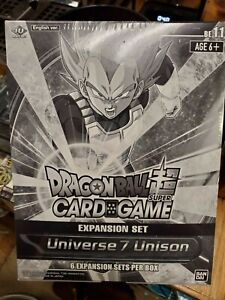 Dragon Ball Super Card Game Universe 7 Unison Expansion Sealed Display [6 sets]