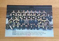 Boston Bruins 1967-68 Original Team Issue 7x10 Photo Vintage Bobby Orr Esposito