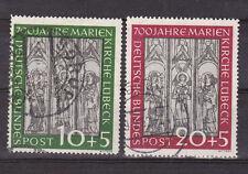 Bund Marienkirche  Mi Nr.139 +.140 gestempelt  Mi  160,00€  ungeprüft !!!