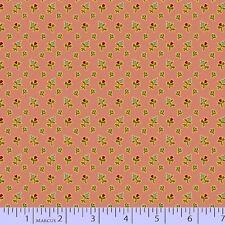 Dusky Pink Floral Georgetown by Judie Rothermel Marcus Fabrics Retro 1/2 Yard