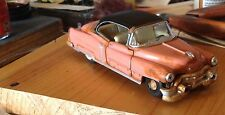autoart,1953 Cadillac,repainted,corral/black top,wrecked-barn find,O scale 1/43