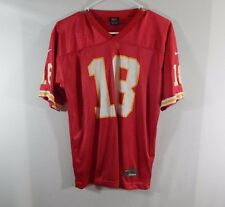 Elvis Grbac Kansas City Chiefs NFL Football Jersey Nike Size YOUTH LARGE L