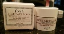 FRESH Rose Face Mask .5oz/ 15ml Deluxe Travel Size NEW