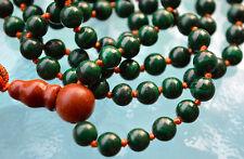 AAA Quality Malachite Hand Knotted Powerful Mala Beads Necklace - Karma Nirvana