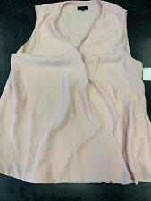 NWT Sen Women's Blush Surplus Sleeveless Top, Large