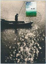 63606  -  NETHERLANDS - POSTAL HISTORY: MAXIMUM CARD 1975 -  FISHING