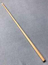 5/16 x 18 Cue Shaft Flat Faced Hard Rock Maple Fits Most Meucci Black Collar