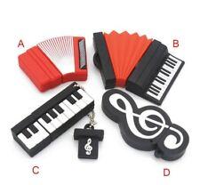 Mini Musik Akkordeon Klavier USB Flash Drive Memory Stick 4GB 8GB 16GB 32GB 64GB