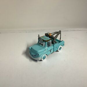 "Disney Pixar Cars Dr Mater Blue Tow Truck Die-cast 3.5"""