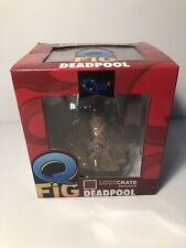 Marvel Deadpool Quantum Mechanix Q-Fig Loot Crate Exclusive Figure