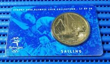 Sydney 2000 Olympic Coin Collection 17 of 28 Sailing Commemorative $5 Coin