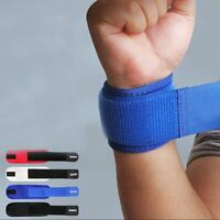 New Adjustable Sports Wrist Brace Wrap Bandage Guard Support Gym Strap Wristband