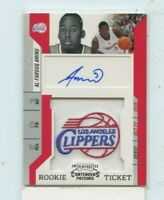 Al-FAROUQ AMINU 2010-11 Panini Playoff Contenders Patches Ticket Rookie Auto