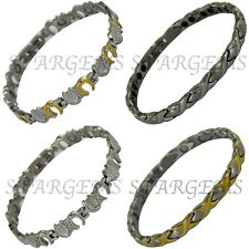 MAGNETIC THERAPY BRACELET PAIN RELIEF ARTHRITIS WOMENS GIFT ENERGY HEALTH LADIES