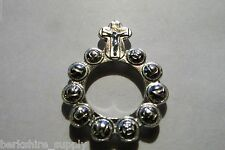 Pewter Christian Prayer Ring