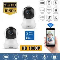 2X SRICAM HD 1080P TELECAMERA IP CAMERA WIRELESS WIFI CCTV IR LED IPCAM WEBCAM