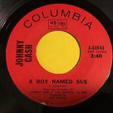 Johnny Cash: A Boy Named Sue / San Quentin 45