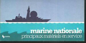 Dépliant de présentation de la marine nationale - Materiels en service.CV20B