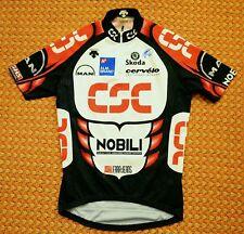 Team CSC, Camicia Da Uomo Ciclismo da DESCENTE, dimensioni Mens Medium 3, Cervelo