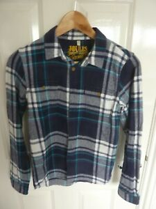 JOULES CHECK TOP/SHIRT -  AGE 11-12 - SUPER LOOK!