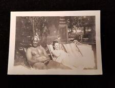 Original Photo of Duke Kahanamoku and Nadine 02/04/47