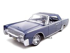 1961 LINCOLN CONTINENTAL DARK BLUE 1/18 DIECAST MODEL CAR ROAD SIGNATURE 20088
