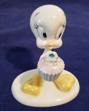 "Retired Lenox Tm & Warner Bros ""A Present from Tweety"" Figurine Dec.Birthstone"