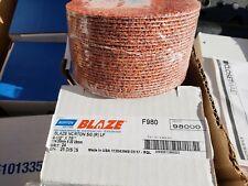 Norton 69957398000 Fiber Discs, Blaze F980, 4-1/2 x 7/8, 24 Grit