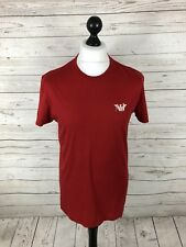 ARMANI T-Shirt - Size XL - Slim Fit - Red - Great Condition - Men's