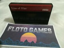 Jeu Line Of Fire pour Sega Master System PAL en Cartouche Seule - Floto Games