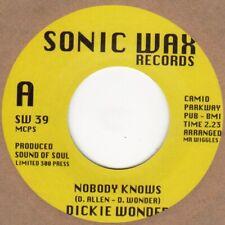 Dickie Wonder  Nobody Knows Sonic Wax SW39 Soul Northern Motown