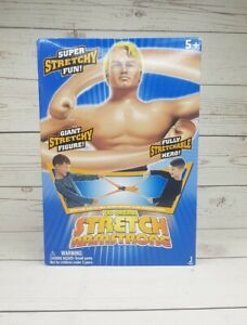 Stretch Armstrong Action Figure Original Kenner Vintage Kids Rubber Toy New