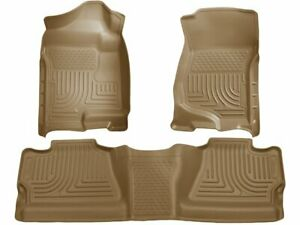 For 2007-2013 GMC Sierra 1500 Floor Mat Set Front and Rear Husky 95436ZM 2008