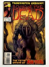 Frankenstein Unbound! Book Of The Dead # 1 • Marvel Comics • Origin of Man-Thing