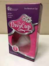 The Diva Cup Model 1 Menstrual Cup Pre-Childbirth New
