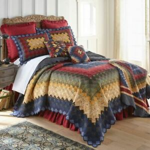 DONNA SHARP CHESAPEAKE TRIP PATCHWORK TRADITIONAL RUSTIC QUILT COLLECTION