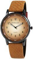 Women's Watch Brown Silver Titanium Look Analogue Quartz Metal W-100000300072500