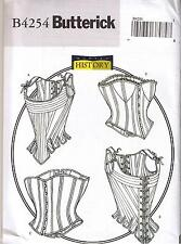 Renaissance Lace Up Boned Stays Corsets Bustier Costume Sewing Pattern 12 14 16