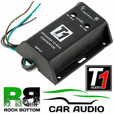 T1-610 Adjustable High to Low Level Car Speaker to RCA Amp Line Out Converter